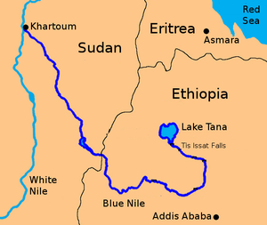 Blue Nile River - Abbay