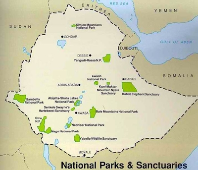 Ethiopia National Parks