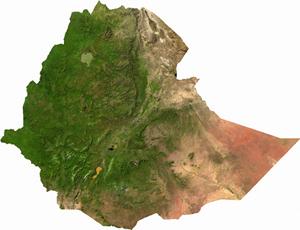 Ethiopia Satelite Image