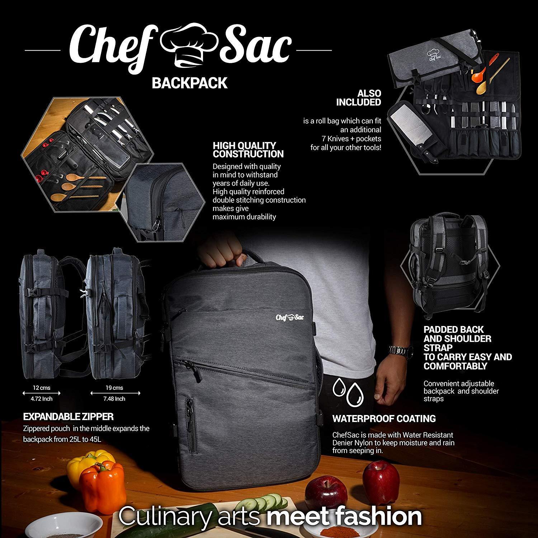 Chef Knife Roll Bag