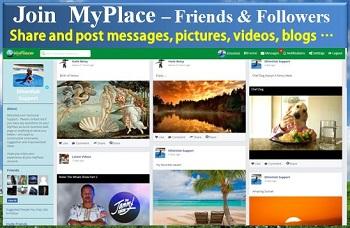 Join  MyPlace – Meet Friends & Followers / አዲስ አይነት ጓደኛ መገናኛና ሃሳብ መገለጫ